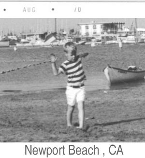 Ted Mackel Newport Beach California 1970