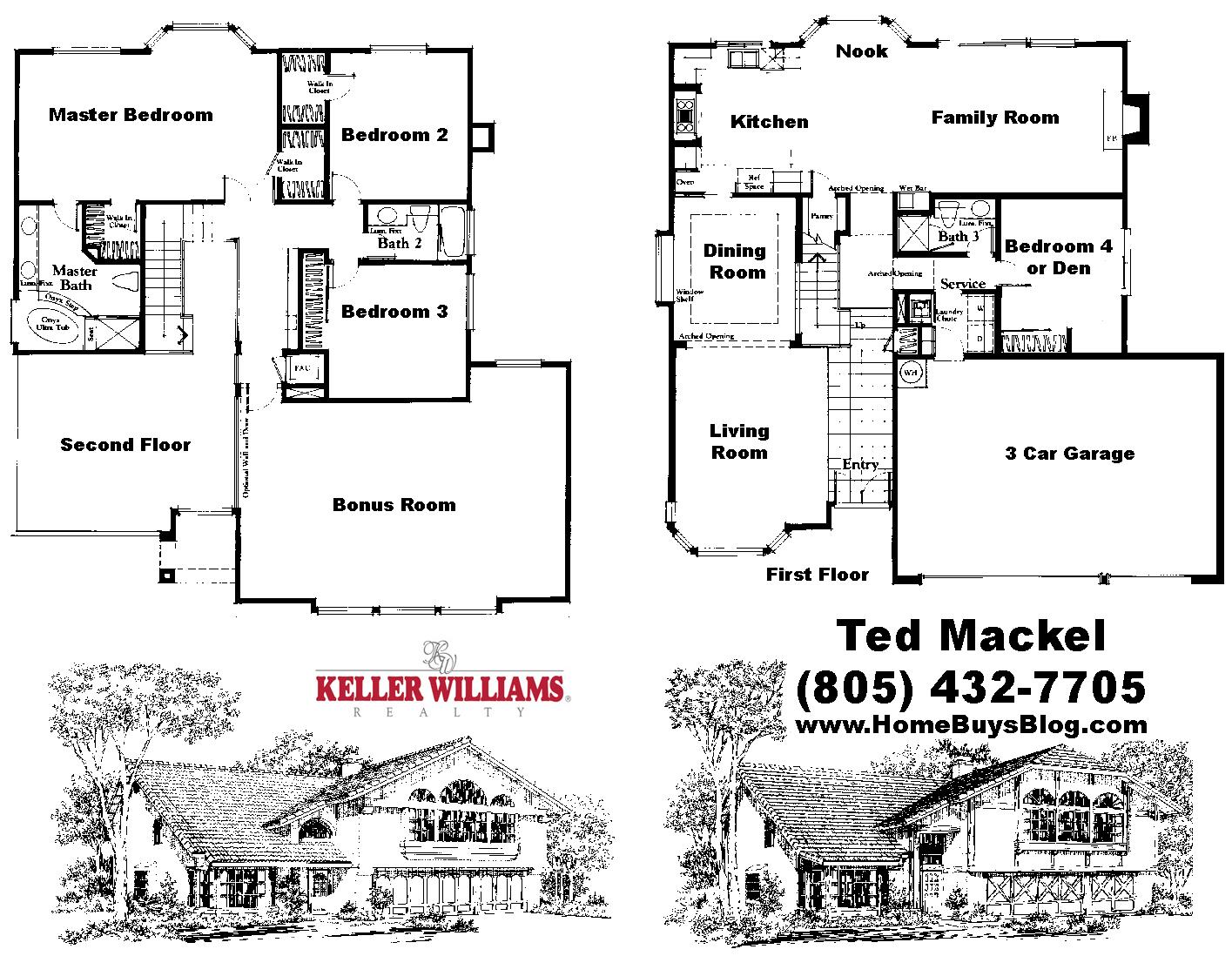 Oakridge Estates Valley View Floor Plan