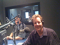 Ted Mackel on the Cindy Dole Home Wizards Show KFWB 980 AM