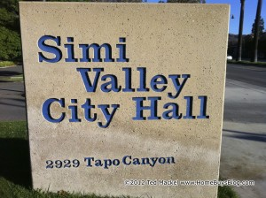 Simi Valley City Hall Sign