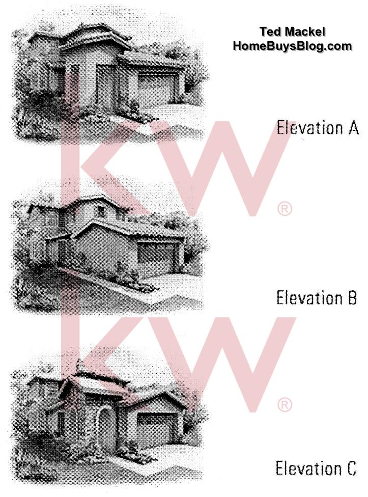 Big Sky Simi Valley Crosspoint Plan 1 Elevations