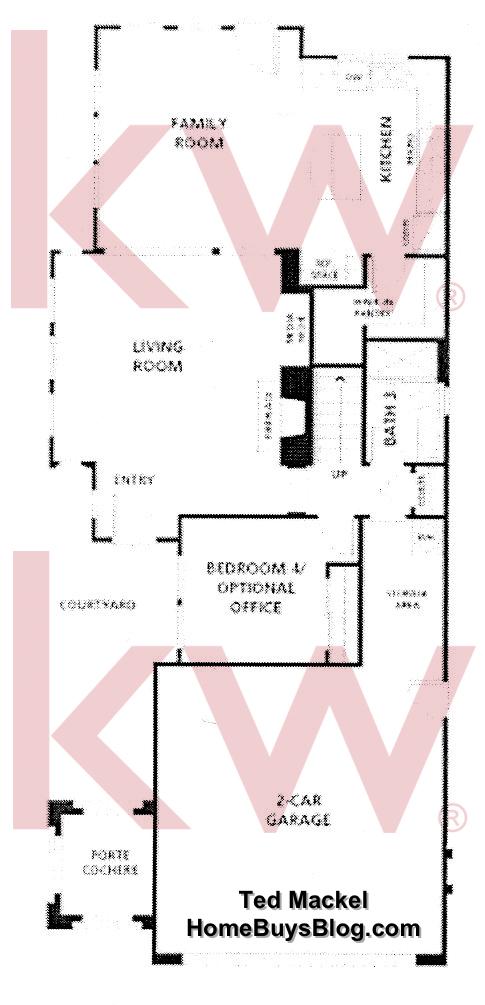 Big Sky Simi Valley Crosspoint Plan 1 first floor