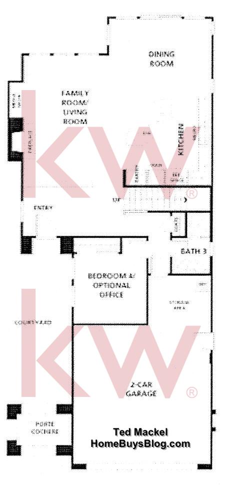 Big Sky Simi Valley Crosspoint Plan 2  first floor