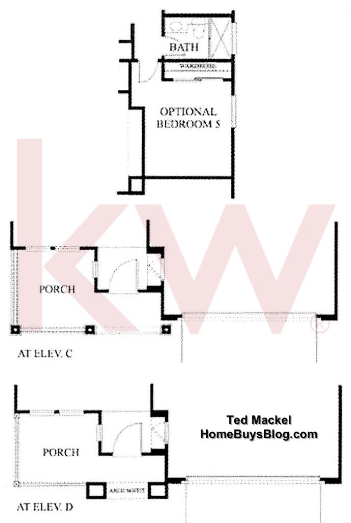 Big Sky Simi Valley Plum Creek tract Plan 1 1st floor options
