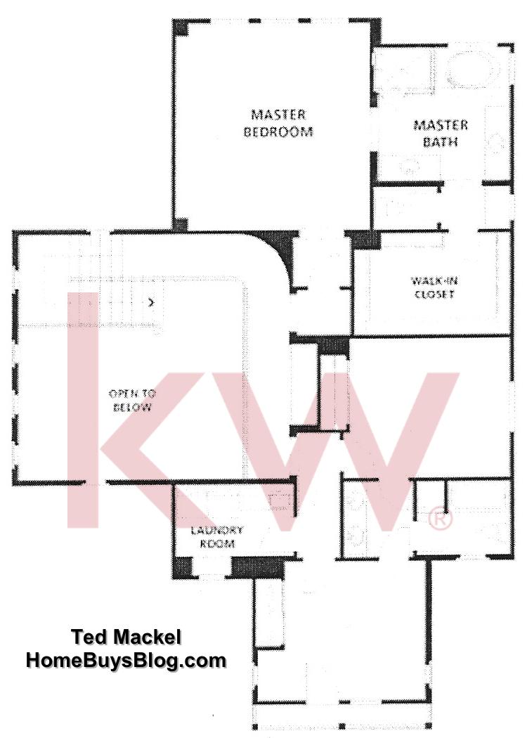 Big Sky Simi Valley Tioga Plan three second floor