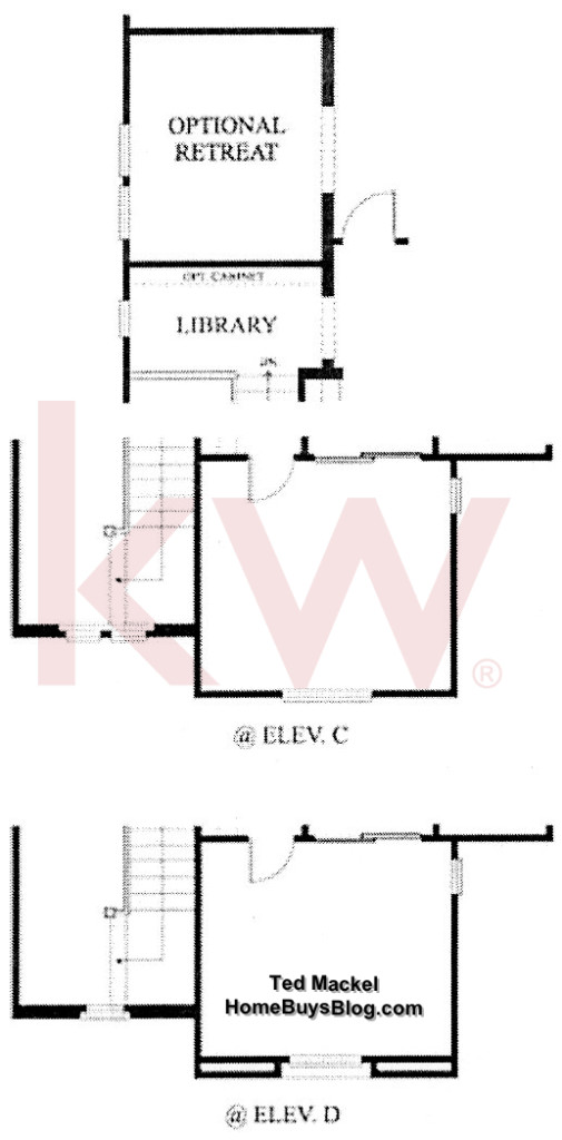 Big Sky SImi Valley Walnut Grove tract Plan 2 Second Floor options
