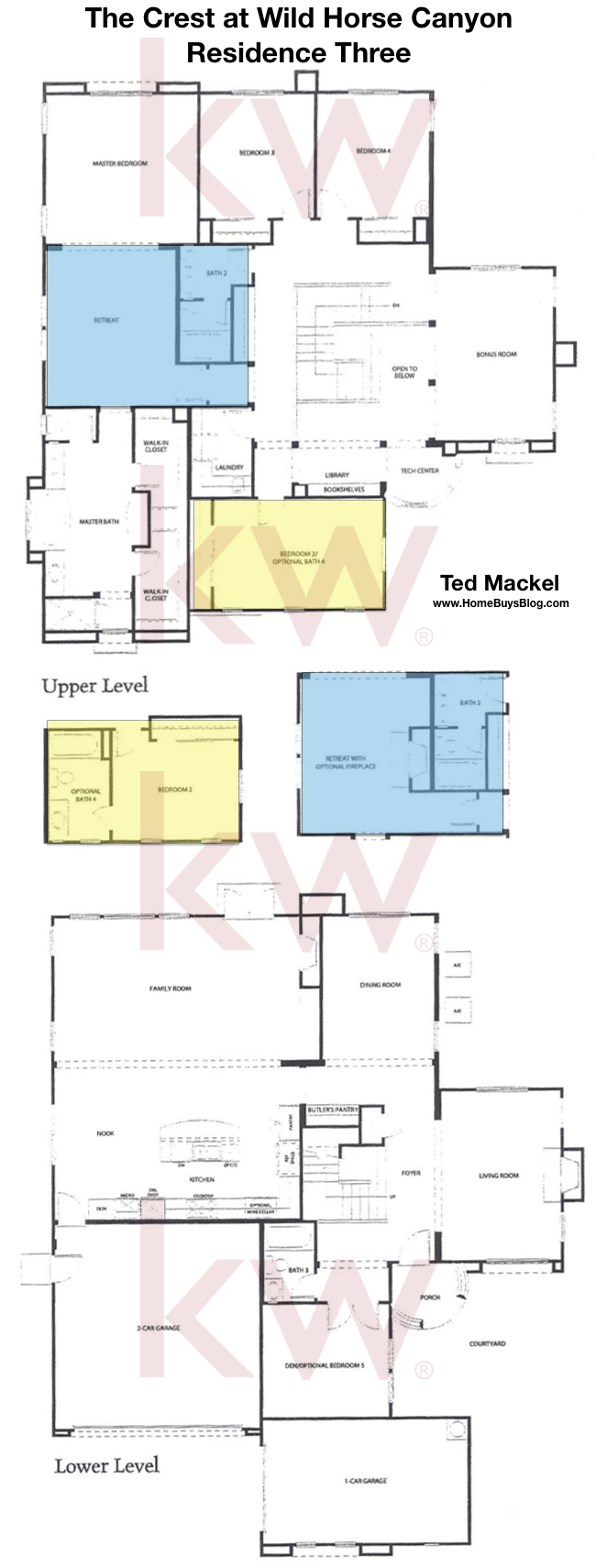 The Crest at Wild Horse Canyon Plan 3 Floor Plan