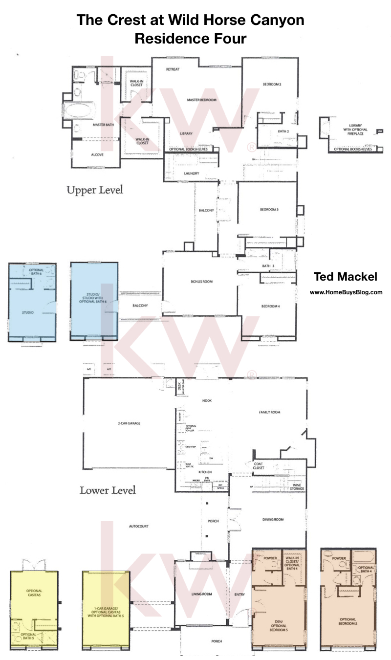 The Crest at Wild Horse Canyon Plan 4 Floor Plan