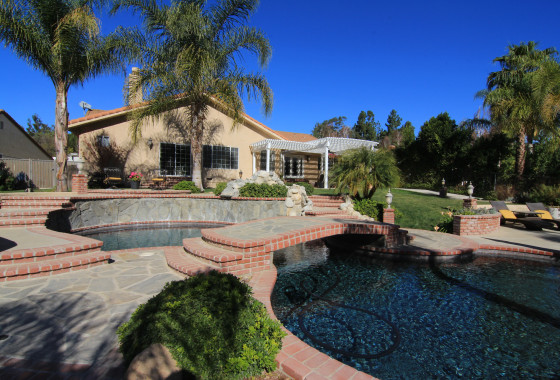 1320 Rambling Road Pool horse property simi valley bridle path