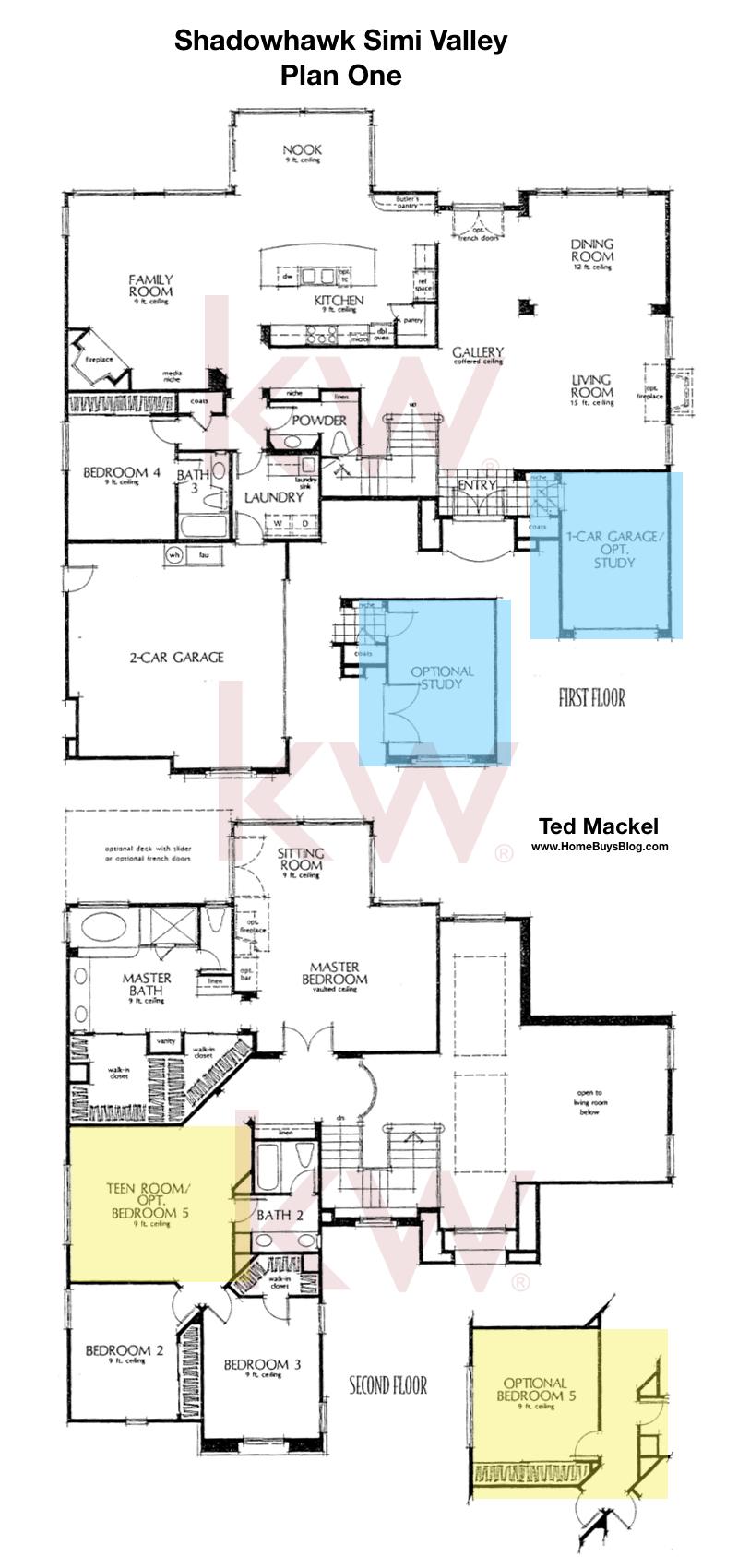 Shadowhawk Plan 1 Simi Valley Floor Plan