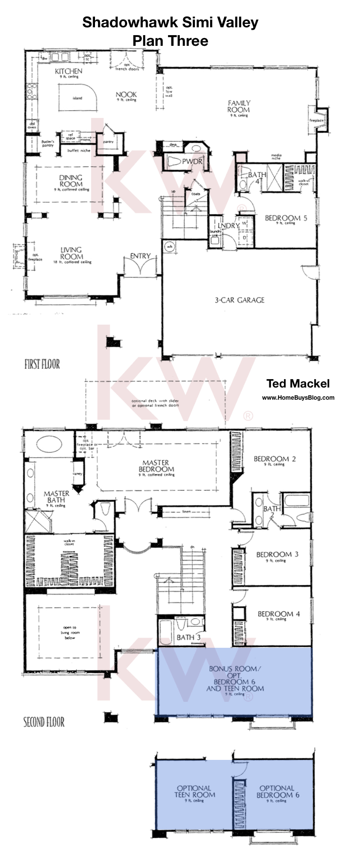 Shadowhawk Plan 3 Floor Plan Simi Valley