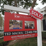 custom yards signs ted mackel simi valley real estate