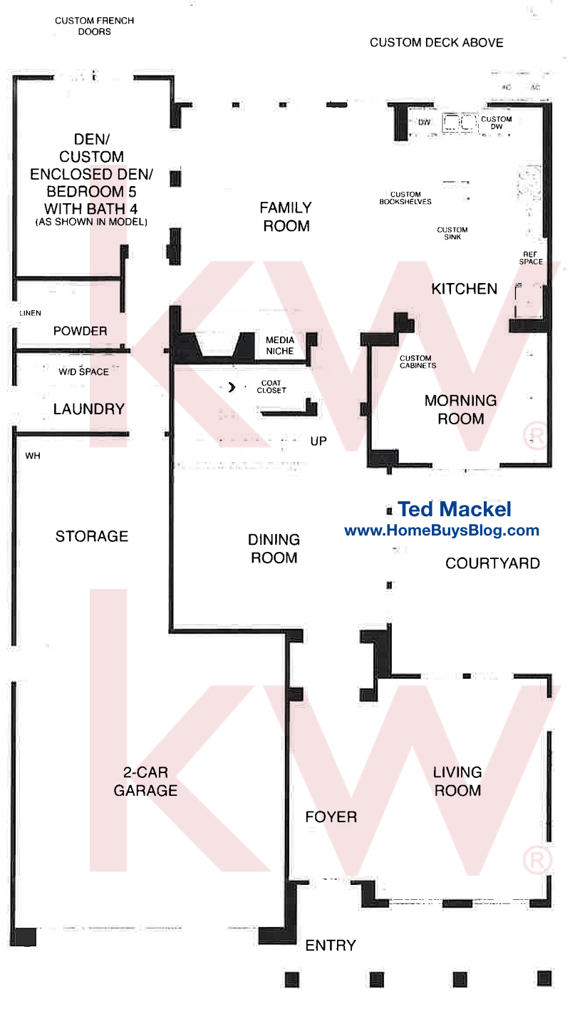 Big Sky Simi Valley Plan 1 The Bluffs First Floor