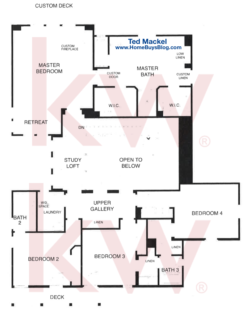 Big Sky Simi Valley Plan 2 The Bluffs Second Floor