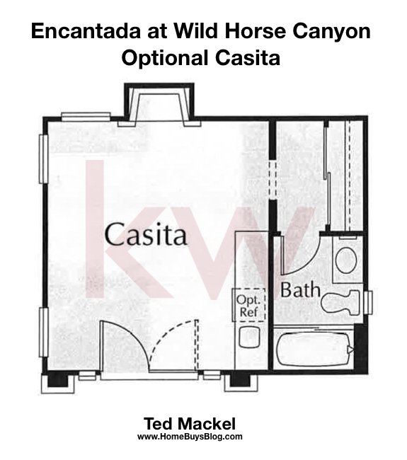 Encantada At Wild Horse Canyon Plan Optional Casita Community Home